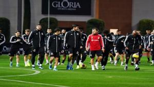 Beşiktaş, ikinci yarı hazırlıklarına başladı