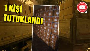 Çalınan malzemeler Urfa'da yakalandı