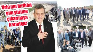 'Çalışmalar bittiğinde vatandaşlar bize dua edecek'