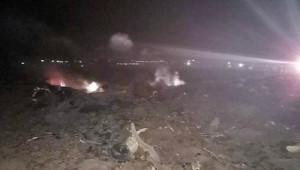 Cezayir'de askeri uçak düştü; 2 ölü
