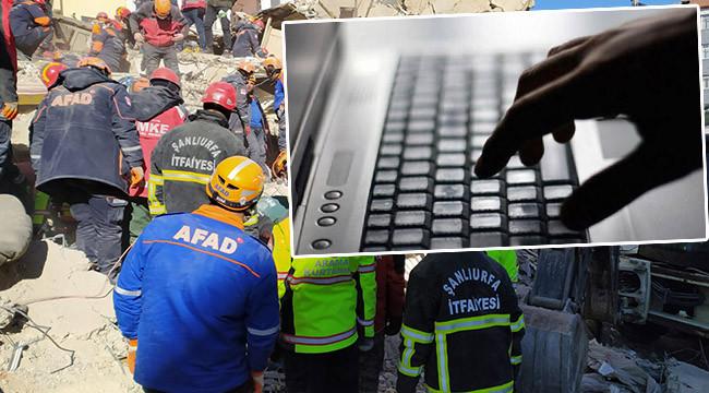 Depremi provoke edenlere soruşturma