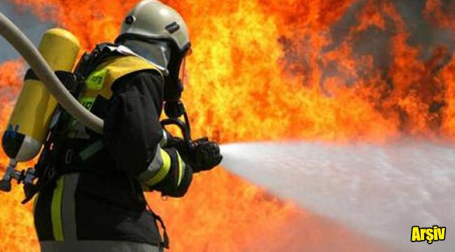 Elektrik trafosunda çıkan yangın söndürüldü