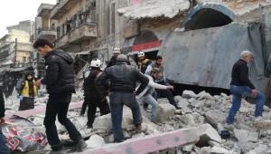 Esad rejimi İdlib'te pazar yerine saldırdı; 8 yaralı