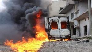 Esad ve Rus uçakları Eriha'yı vurdu; 8 yaralı