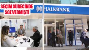 Eyyübiye'de banka şubesi hizmete açıldı