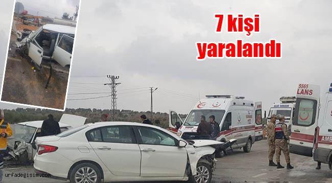Gaziantep-Şanlıurfa kara yolunda trafik kazası