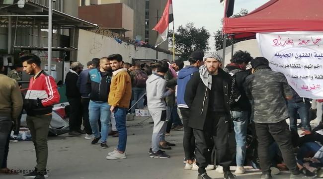 Irak'taki protestolarda yaralı sayısı 59'a yükseldi