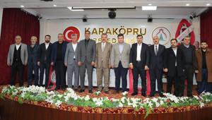 Karaköprü Belediyespor görev bölümü yaptı