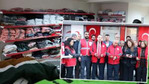 Kızılay, Şanlıurfa'da giyim mağazası açtı