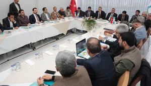 Koordinasyon toplantısında icraat vurgusu yapıldı