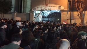 Lübnan'da polis ve göstericiler arasında arbede; 35 yaralı