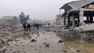 Rejim ve Rus uçakları Halep'e saldırdı; 2 ölü, 5 yaralı