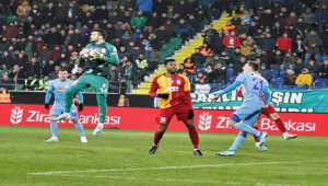 Rizespor 1 - 1 Galatasaray
