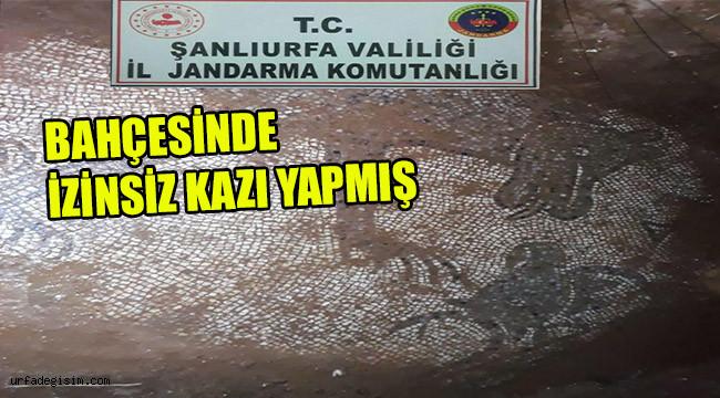 Roma dönemine ait 2 bin yıllık mozaik bulundu