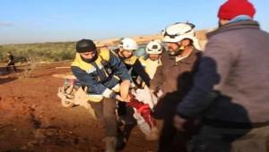 Rus savaş uçakları mülteci kampını vurdu; 2 ölü 5 yaralı