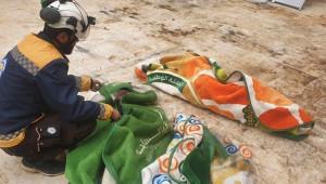 Rus uçaklarından Halep'e hava saldırısı; 2'si çocuk 4 ölü