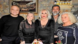 Semiha Yankı, yaş gününü Çeşme'de kutladı