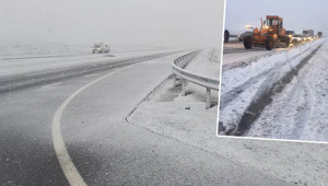 Siverek'te kar hayatı olumsuz etkiliyor