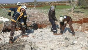 Suriye'de 12 sivil saldırılarda hayatını kaybetti