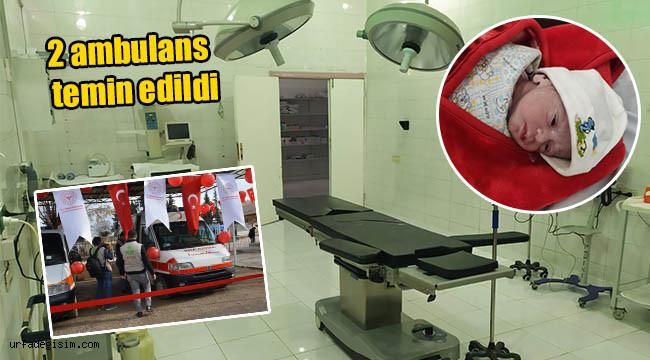 Telabyad Hastanesi'nde ilk ameliyat yapıldı