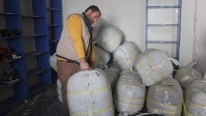 Toplanan yardım malzemeleri Elazığ'a gönderilecek