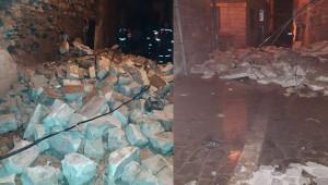 Urfa'da kaç bina hasar gördü?