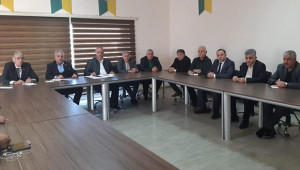 Urfaspor yöneticileri görev dağılımı yaptı