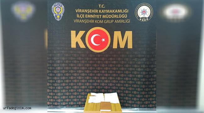 Viranşehir'de tefecilik operasyonu: 1 gözaltı