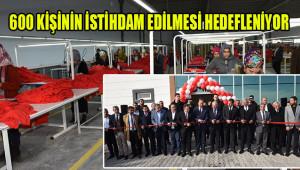 Viranşehir'de törenle açıldı; makineler çalıştı