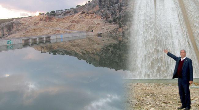 Yağışlar Ardıl Barajı'nı doldurdu