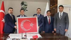 Yerel Yönetimler Başkan Yardımcısı, Baydilli'yi ziyaret etti