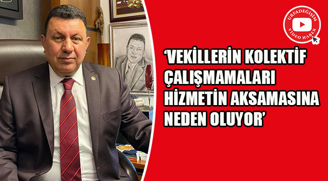 'AK Parti vekilleri bölgecilik yapıyor'