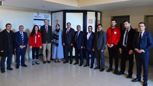 Avusturya Büyükelçiliği Müsteşarı Saupe, Şanlıurfa'ya geldi
