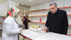 Beyazgül'den kadın kasaba destek ziyareti