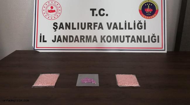 Bin 350 uyuşturucu hap ele geçirildi: 1 tutuklu