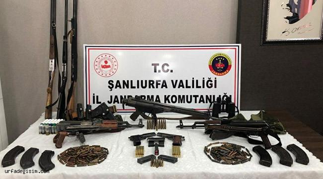 Çok sayıda silah ele geçirildi: 3 gözaltı