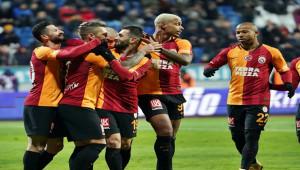 Galatasaray zirveye yürüyor