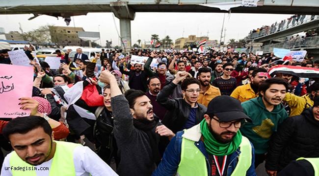Irak'ta hükümet karşıtı protestoların bilançosu; 545 ölü