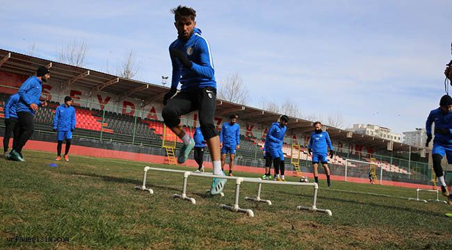 Karaköprü Belediyespor da hedef bol gollü galibiyet
