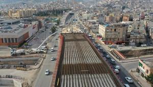 Karakoyun'da beton dökümü başladı