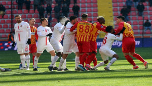 Kayserispor 2 - 2 Antalyaspor