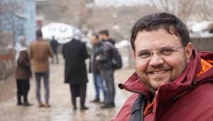Koçak, Urfa'daki gazetecilere veda etti