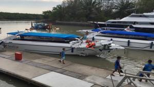 Phuket Adası'nda sürat tekneleri çarpıştı; 2 ölü, 20 yaralı