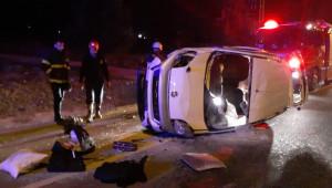 Polisten kaçan araçta esrar çıktı