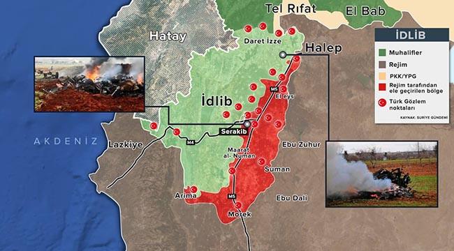 Rejim, İdlib'e saldırılarında ağır kayıplar verdi