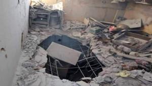Savaş uçakları Halep'i vurdu: 1 ölü, 3 yaralı