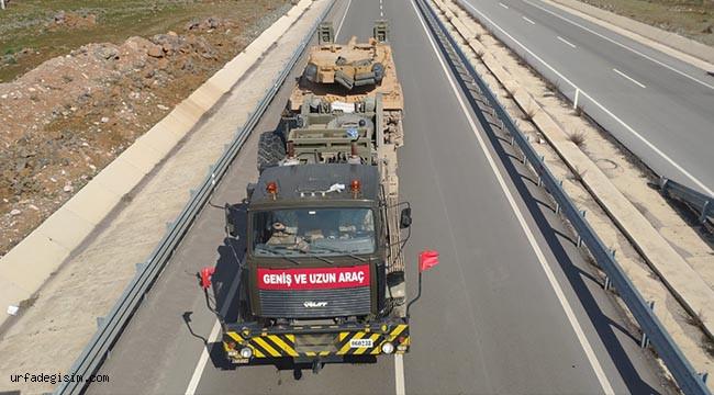 Sınır birliklerine tank sevkıyatı
