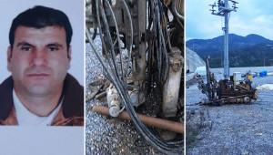 Sondaj makinesine sıkışan Urfalı işçi hayatını kaybetti