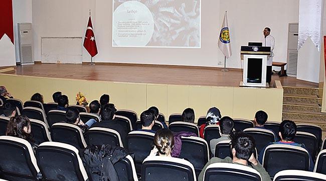 Tıp Fakültesi'nde Coronavirüs semineri verildi
