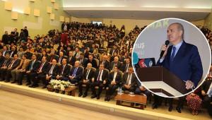 Türkiye'yi güçlü yarınlara taşıma konferansı verdi